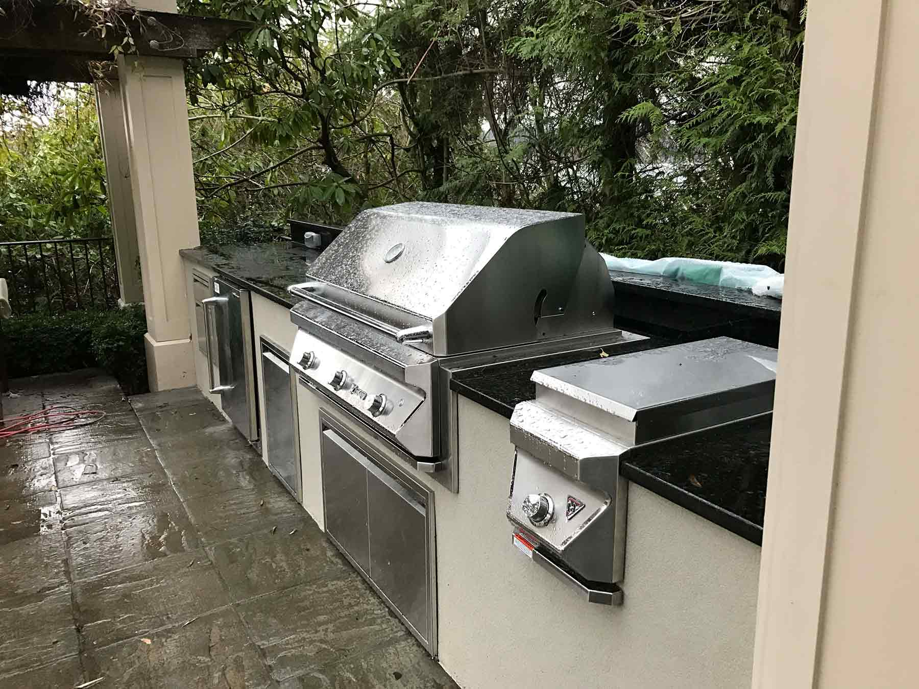 Sepic Project – Mercer Island, WA – Outdoor Kitchen