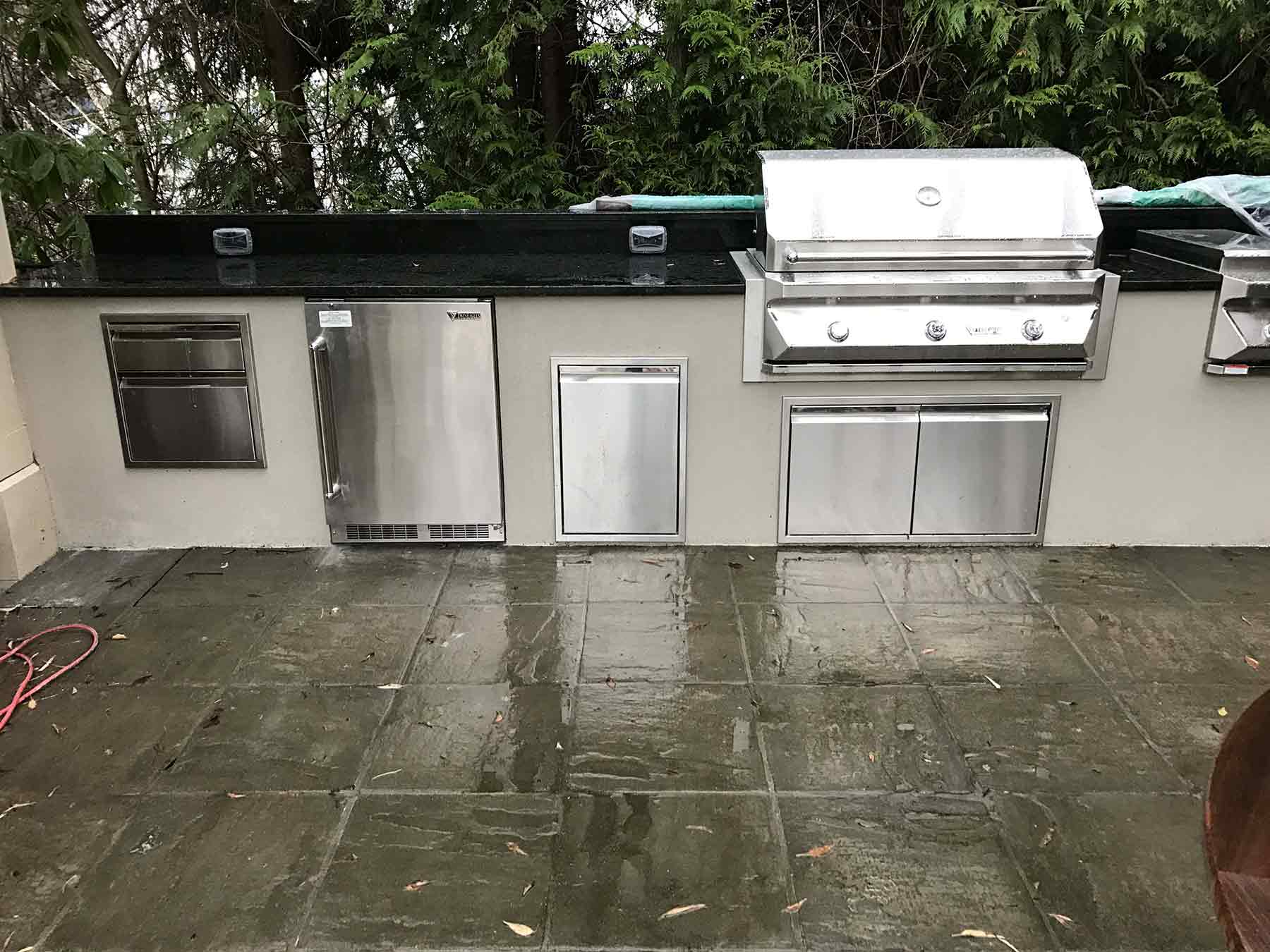 Sepic Project – Mercer Island, WA – Outdoor Kitchen 2