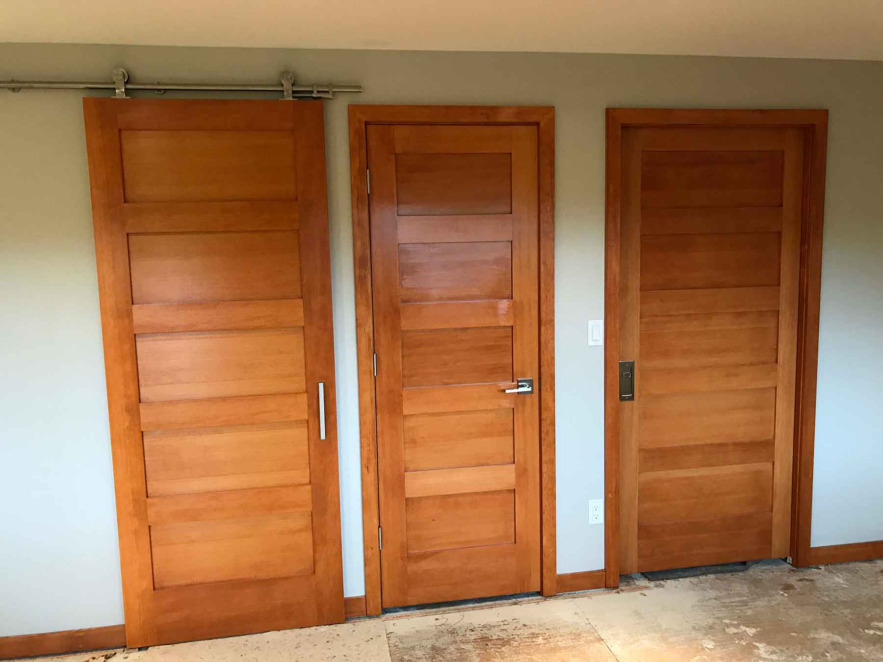 Flood Project – Sammamish, WA – Millwork
