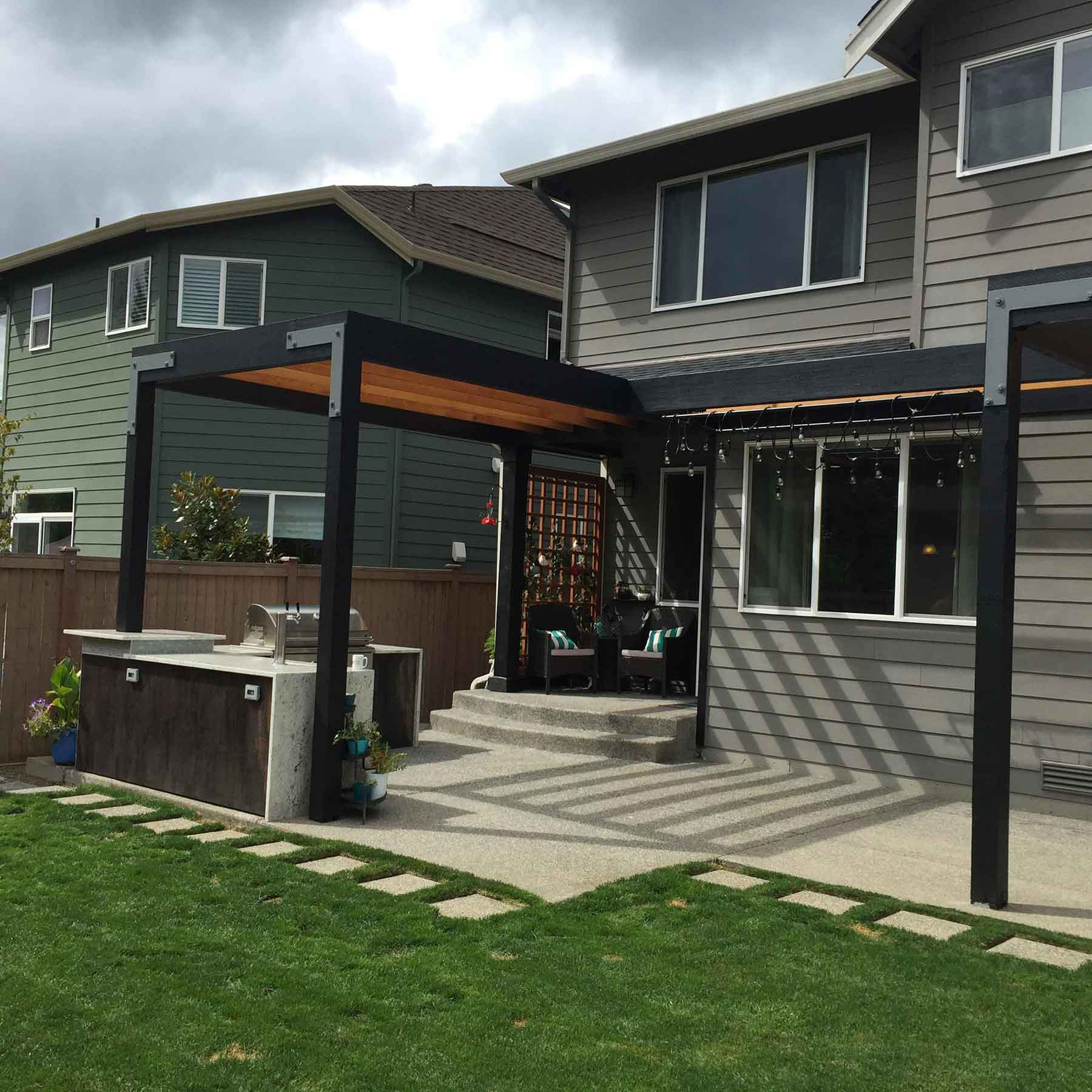 Sinconis Project – Snoqualmie, WA – Pergola 2