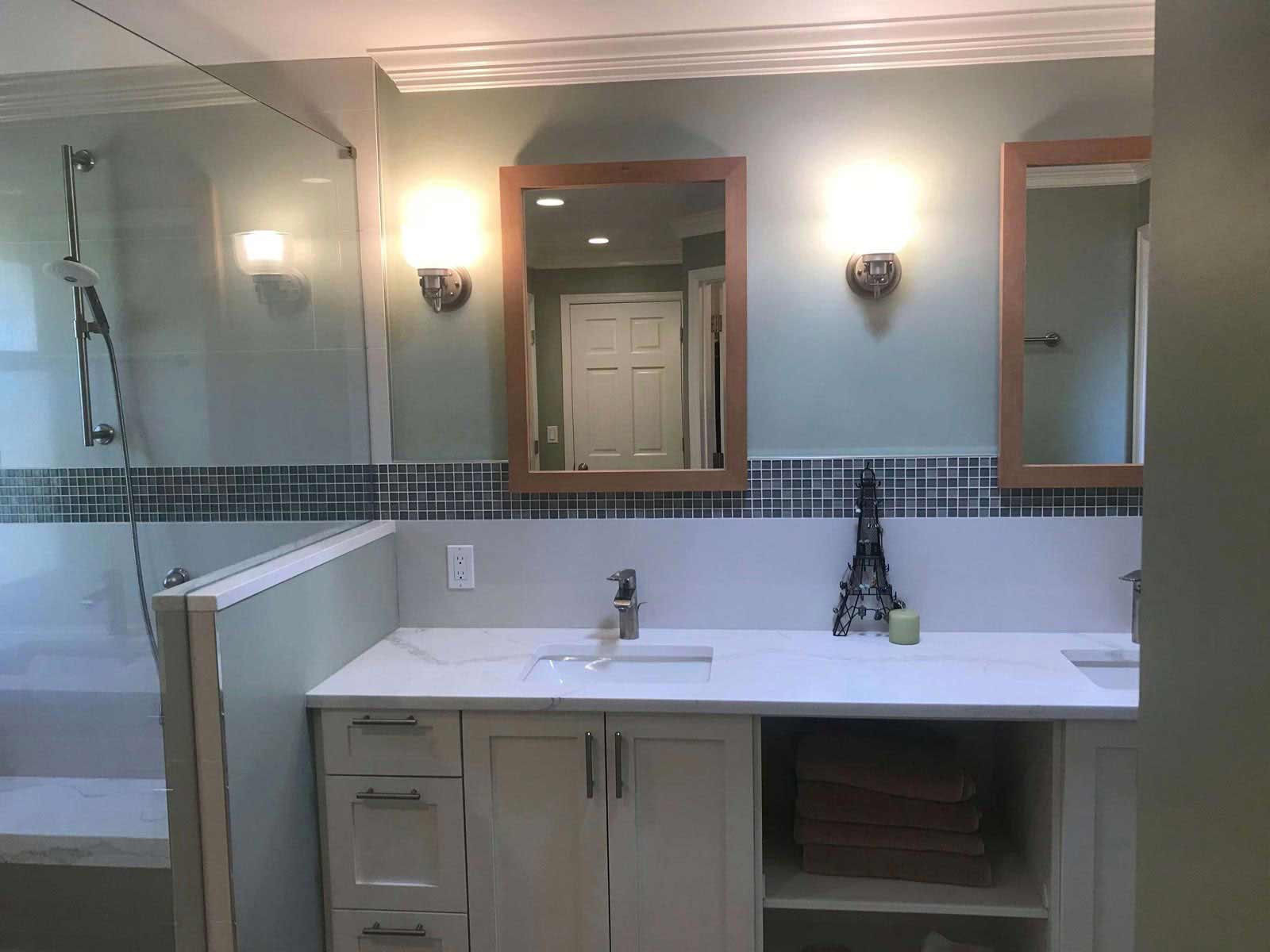 Campbell Project – Bellevue, WA – Bathroom Remodel 4